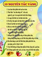 10 NGUYÊN TẮC VÀNG (BK-12)