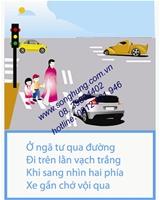 BẢNG TUYÊN TRUYỀN GIAO THÔNG (BK-09)